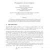 Propagation of Mean Degrees