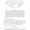Properties of Random Triangulations and Trees