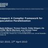 Prospect: a compiler framework for speculative parallelization