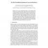 ProUD: Probabilistic Ranking in Uncertain Databases