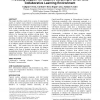 Providing support for adaptive scripting in an on-line collaborative learning environment