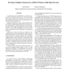 Proximity Neighbor Selection for a DHT in Wireless Multi-Hop Networks