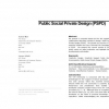 Public social private design (PSPD)