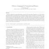 Python: a language for computational physics