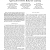 Q-RAN: A Constructive Reinforcement Learning Approach for Robot Behavior Learning