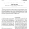 QoS-aware fair rate allocation in wireless mesh networks