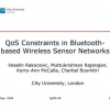 QoS Constraints in Bluetooth-Based Wireless Sensor Networks