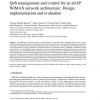 QoS management and control for an all-IP WiMAX network architecture: Design, implementation and evaluation