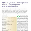 QPACE: Quantum Chromodynamics Parallel Computing on the Cell Broadband Engine