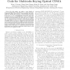 Quadratic-Congruence Carrier-Hopping Prime Code for Multicode-Keying Optical CDMA