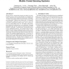 Quality of Information Aware Incentive Mechanisms for Mobile Crowd Sensing Systems