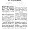 Quality-of-Service in Cognitive Radio Networks with Collaborative Sensing