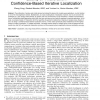 Quality of Trilateration: Confidence Based Iterative Localization