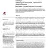 Quantifying Transmission Investment in Malaria Parasites