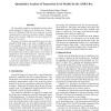 Quantitative analysis of transaction level models for the AMBA bus