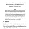 Quasi-Monte Carlo Method for Infinitely Divisible Random Vectors via Series Representations