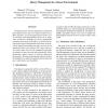 Query Management in a Sensor Environment