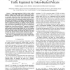 Queuing Performance of Long-Range Dependent Traffic Regulated by Token-Bucket Policers