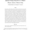 Quickest Change Detection of a Markov Process Across a Sensor Array