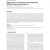 Radio resource management of self-organizing OFDMA wireless mesh networks