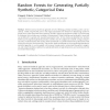 Random Forests for Generating Partially Synthetic, Categorical Data
