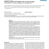 Ranking analysis of F-statistics for microarray data