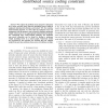 Rate and power allocation under the pairwise distributed source coding constraint