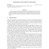 Rationality and its Roles in Reasoning (Extended Abstract)