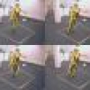 Real-time Body Tracking Using a Gaussian Process Latent Variable Model
