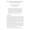 Real-Time Feature Acquisition and Integration for Vision-Based Mobile Robots