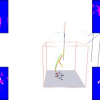 Real-Time Marker-free Motion Capture from multiple cameras