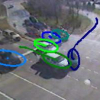 Real time object tracking based on dynamic feature grouping with background subtraction