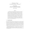Realization using the model existence theorem