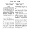 Reasoning about Nondeterministic and Concurrent Actions: A Process Algebra Approach