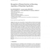 Recognition of Human Emotions in Reasoning Algorithms of Wheelchair Type Robots