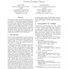 Recognition of the Coherence Relation between Te-linked Clauses