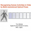 Recognizing Human Activities in Video by Multi-resolutional Optical Flows