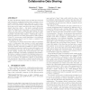 Reconciling while tolerating disagreement in collaborative data sharing