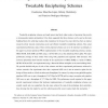 Reconfigurable Hardware Implementations of Tweakable Enciphering Schemes