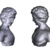 Free-Form Object Reconstruction from Silhouettes, Occluding Edges and Texture Edges: A Unified and Robust Operator Based on Dual