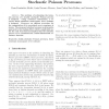 Recursive Linear Estimation for Doubly Stochastic Poisson Processes