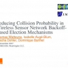 Reducing Collision Probability in Wireless Sensor Network Backoff-Based Election Mechanisms
