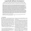Reducing Inspection Interval in Large-Scale Software Development