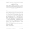 Regularity issues for the null-controllability of the linear 1-d heat equation