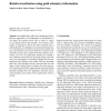 Relative localization using path odometry information