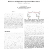 Relative pose problem for non-overlapping surveillance cameras with known gravity vector