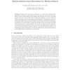 Remote Software-Based Attestation for Wireless Sensors