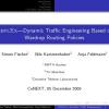 REPLEX: dynamic traffic engineering based on wardrop routing policies