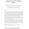 Representation of context-dependant knowledge in ontologies: A model and an application