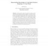 Representing Knowledge in Controlled Natural Language: A Case Study